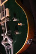 Nick Page Guitars Blitz Green Sparkle